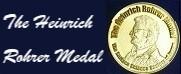 The Heinrich Rohrer Medal